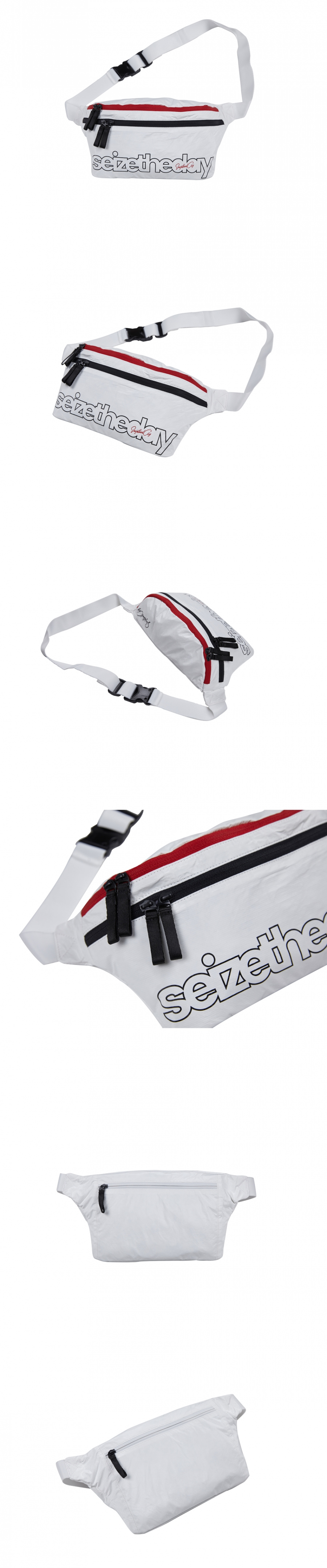 Ripstop Waist Bag White